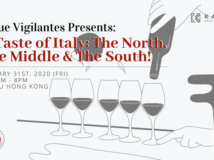 Value Vigilantes Presents: A Taste of Italy: The North,  The Middle & The South!