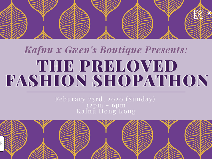 Kafnu x Gwen's Boutique Presents: The Preloved Fashion Shopathon